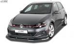 RDX Frontspoiler VARIO-X VW Golf 7 GTI / GTD / GTE Facelift 2017+ Frontlippe Front Ansatz Vorne Spoilerlippe