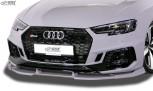 RDX Frontspoiler VARIO-X AUDI RS4 B9 Frontlippe Front Ansatz Vorne Spoilerlippe
