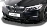 RDX Frontspoiler VARIO-X BMW 5er G30, G31, G38 für M-Sport/M-Paket Frontlippe Front Ansatz Vorne Spoilerlippe