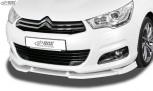 RDX Frontspoiler VARIO-X für CITROEN C4 (Typ N) 2010-2018 Frontlippe Front Ansatz Vorne Spoilerlippe