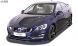 RDX Frontspoiler VARIO-X VOLVO S60 / V60 2013-2018 Frontlippe Front Ansatz Vorne Spoilerlippe