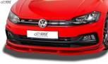RDX Frontspoiler VARIO-X VW Polo 2G R-Line & GTI Frontlippe Front Ansatz Vorne Spoilerlippe