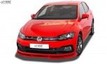 RDX Frontspoiler VARIO-X für VW Polo 2G R-Line & GTI Frontlippe Front Ansatz Vorne Spoilerlippe