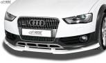 RDX Frontspoiler VARIO-X AUDI A4 Allroad B8 2011+ Frontlippe Front Ansatz Vorne Spoilerlippe