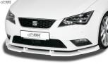 RDX Frontspoiler VARIO-X SEAT Leon 5F -2017 (auch SC und ST) Frontlippe Front Ansatz Vorne Spoilerlippe