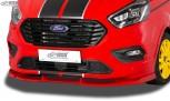 RDX Frontspoiler VARIO-X FORD Transit Custom / Tourneo Custom ST-Line 2018+ Frontlippe Front Ansatz Vorne Spoilerlippe