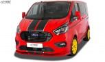 RDX Frontspoiler VARIO-X für FORD Transit Custom / Tourneo Custom ST-Line 2018+ Frontlippe Front Ansatz Vorne Spoilerlippe