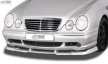 RDX Frontspoiler VARIO-X MERCEDES E-Klasse W210 AMG 1999-2002 Frontlippe Front Ansatz Vorne Spoilerlippe