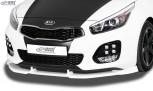 RDX Frontspoiler VARIO-X KIA Ceed, Ceed SW, Pro Ceed GT & GT-Line Typ JD (2015+) Frontlippe Front Ansatz Vorne Spoilerlippe