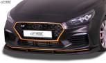 RDX Frontspoiler VARIO-X HYUNDAI i30 N 2018+ Frontlippe Front Ansatz Vorne Spoilerlippe