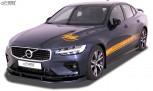 RDX Frontspoiler VOLVO S60 / V60 R-Design 2018+ Frontlippe Front Ansatz Vorne Spoilerlippe