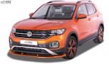 RDX Frontspoiler VARIO-X für VW T-Cross Frontlippe Front Ansatz Vorne Spoilerlippe