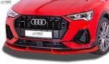 RDX Frontspoiler VARIO-X für AUDI Q3 S-Line (F3) Frontlippe Front Ansatz Vorne Spoilerlippe
