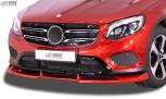 RDX Frontspoiler VARIO-X für MERCEDES GLC X253 & GLC Coupé C253 -2019 Frontlippe Front Ansatz Vorne Spoilerlippe