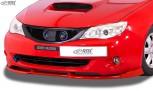 RDX Frontspoiler VARIO-X für SUBARU Impreza (GR) 2007-2011 Frontlippe Front Ansatz Vorne Spoilerlippe
