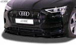 RDX Frontspoiler VARIO-X für AUDI e-tron & e-tron Sportback Frontlippe Front Ansatz Vorne Spoilerlippe