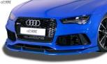 RDX Front Spoiler VARIO-X for AUDI RS7 (-2018) Front Lip Splitter