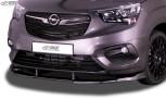 RDX Front Spoiler VARIO-X for OPEL Combo Life & Cargo 2018+ Front Lip Splitter