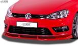 RDX Front Spoiler VARIO-X for VW Golf 7 R-Line (-2017) Front Lip Splitter
