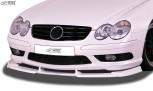 RDX Front Spoiler VARIO-X for MERCEDES SL-Klasse SL 55 AMG R230 Front Lip Splitter
