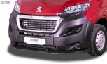 RDX Frontspoiler VARIO-X für CITROEN Jumper 2014+, FIAT Ducato 2014+, PEUGEOT Boxer 2014+ Frontlippe Front Ansatz Vorne Spoilerlippe