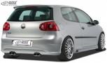 """RDX Heckansatz VW Golf 5 """"R32 clean"""" mit Endrohrausfräsung links & rechts Heckschürze Heck"""