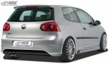 """RDX Heckansatz VW Golf 5 """"R32 clean"""" mit Endrohrausfräsung links Heckschürze Heck"""