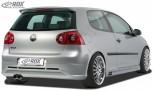 """RDX Heckansatz VW Golf 5 """"GTI/R-Five"""" mit Endrohrausfräsung links Heckschürze Heck"""