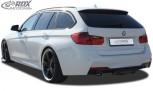 RDX Heckdiffusor U-Diff BMW 3er F30 / F31 2012+ (mit & ohne M-Technik) Diffusor Heck Ansatz