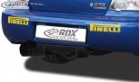 RDX Heckdiffusor U-Diff SUBARU Impreza 3 (GD) WRX 2005-2007 Diffusor Heck Ansatz