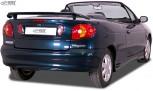 RDX Heckspoiler RENAULT Megane 1 Cabrio & Coupe & Classic Heckflügel Spoiler