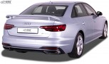 RDX Heckspoiler für AUDI A4 8W B9 Limousine (-2019 & Facelift 2019+) Heckflügel Spoiler