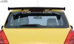 RDX Heckspoiler SUZUKI Swift MZ/EZ 2005-2010 Dachspoiler Spoiler