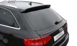 RDX Hecklippe für AUDI A4 B8 Avant Kombi Heckklappenspoiler Heckspoiler Dachspoiler (unten)