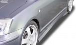 """RDX Seitenschweller TOYOTA Avensis (T25) 2003-2009 """"Turbo"""""""