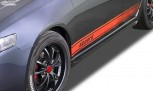 "RDX Sideskirts HONDA Accord 7 2002-2006 Sedan and Tourer/StationWagon ""Slim"""