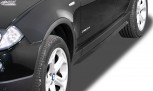 """RDX Sideskirts BMW X3 E83 2003-2010 """"Slim"""""""